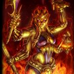 Kali gold card