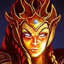 Kali gold icon