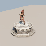 SWC Pedestal with Neith