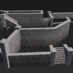 Cementary Walls
