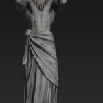 Zeus statue solo lane