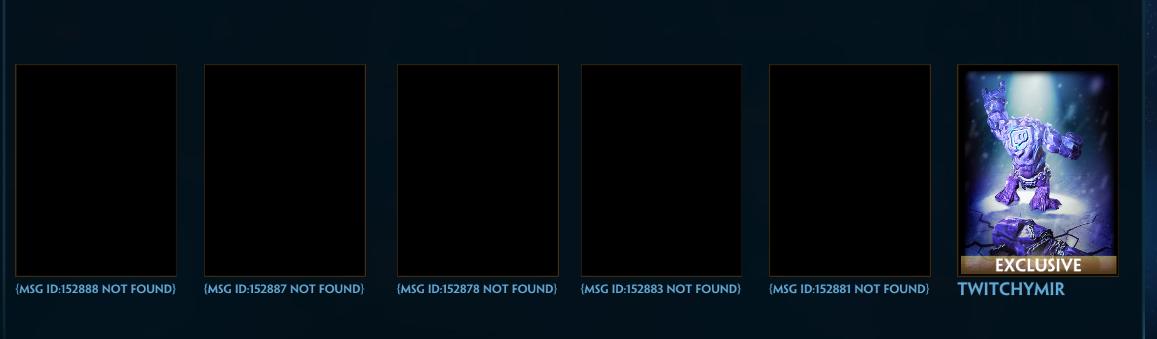 Missing skins