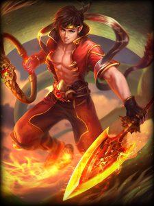 Ne Zha Flame Lord